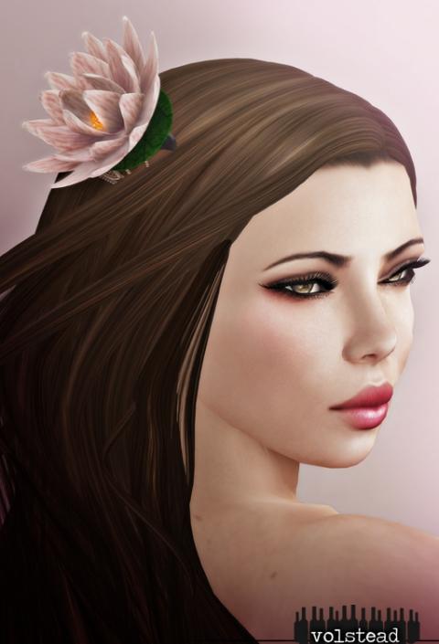Volstead lotus comb poster