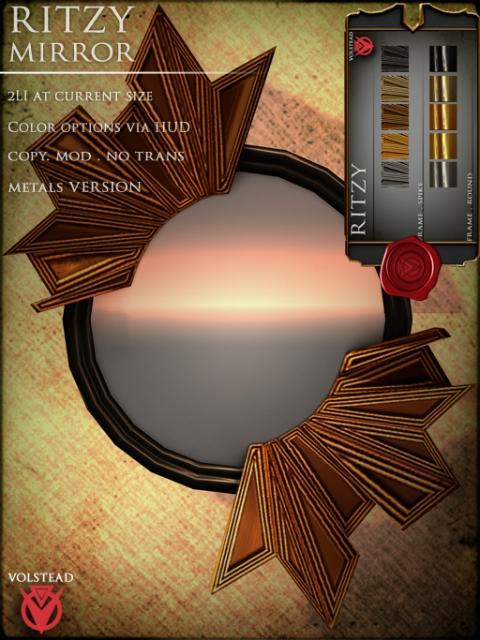 volstead ritzy mirror poster template 512x683