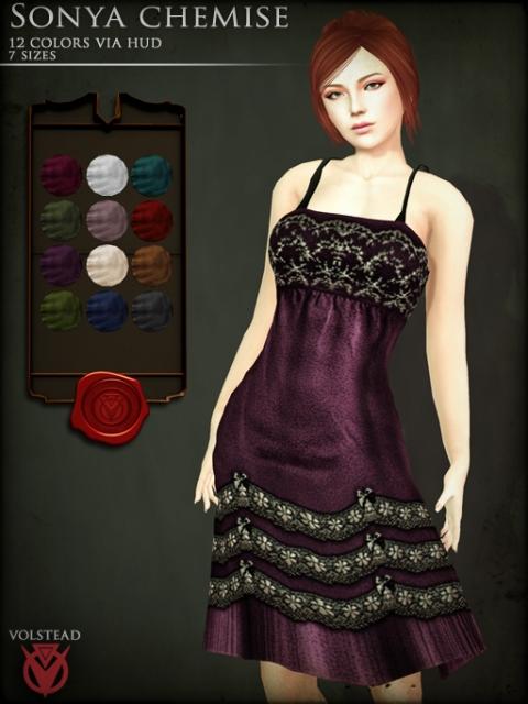 Sonya chemise Poster